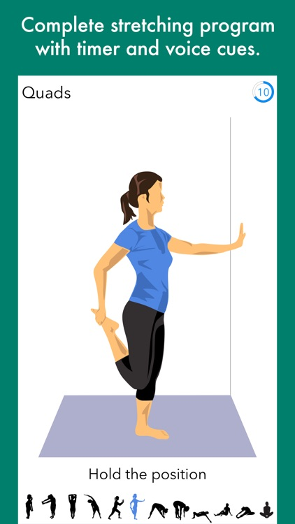 Run 5k - interval training program + stretches