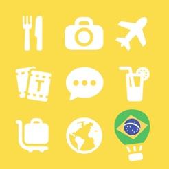 Lets travel brazil brazilian phrase guide book on the app store lets travel brazil brazilian phrase guide book 4 m4hsunfo