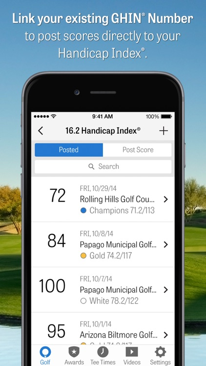 Golfshot: Golf GPS + Scorecard screenshot-3