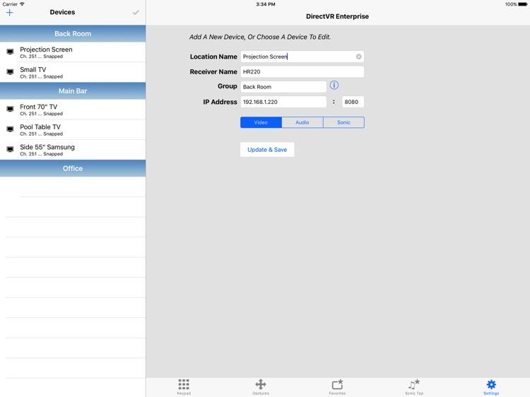 DirectVR Enterprise Remote for DirecTV screenshot-4