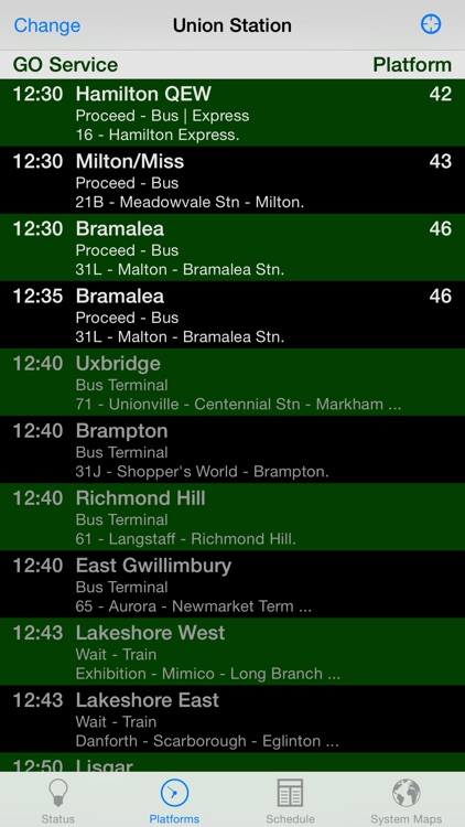 GOToronto: GO Transit Sidekick screenshot-3