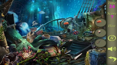 Hidden Objects Of A Mystery Of The Sea