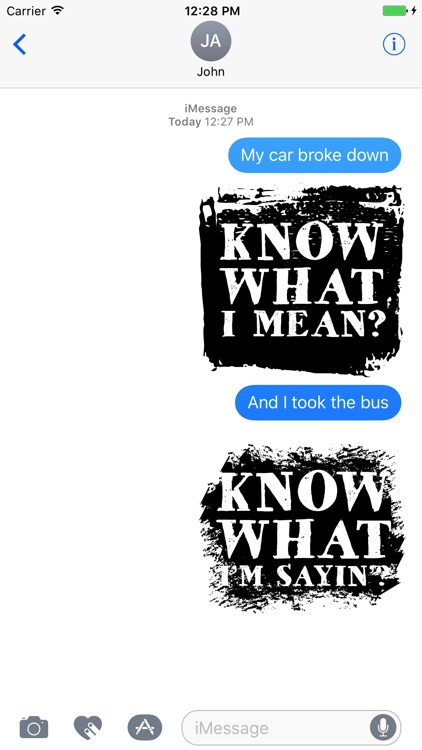 Hip Hop Words Text Sticker Pack screenshot-4