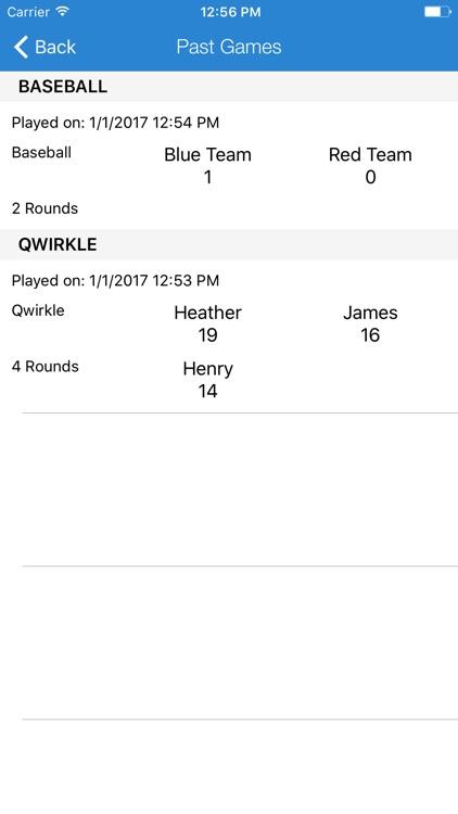 Scoreboard: Game Score Keeper