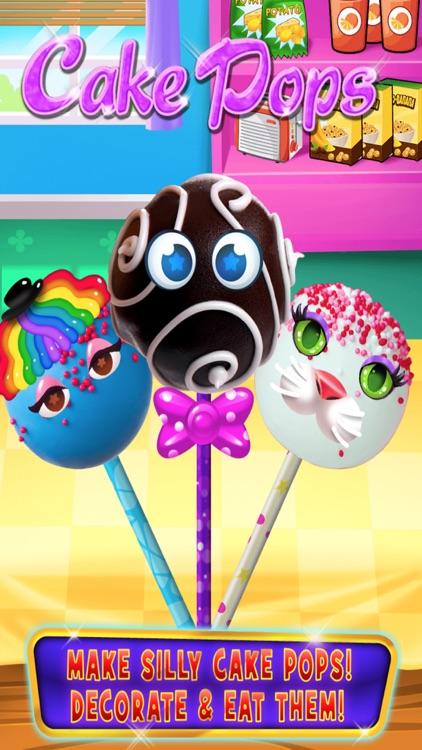Cake Pop Maker - Cooking & Baking Games Kids