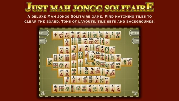 Mah Jongg Tiles Solitaire screenshot-0