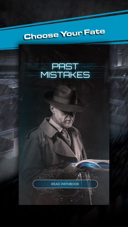Past Mistakes - Science Fiction dystopian Book app screenshot-3