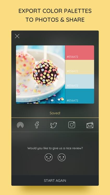 iPalettes - Color palettes screenshot-4