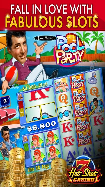 Hot Shot Slots Games – Vegas Casino Slot Machines screenshot-4