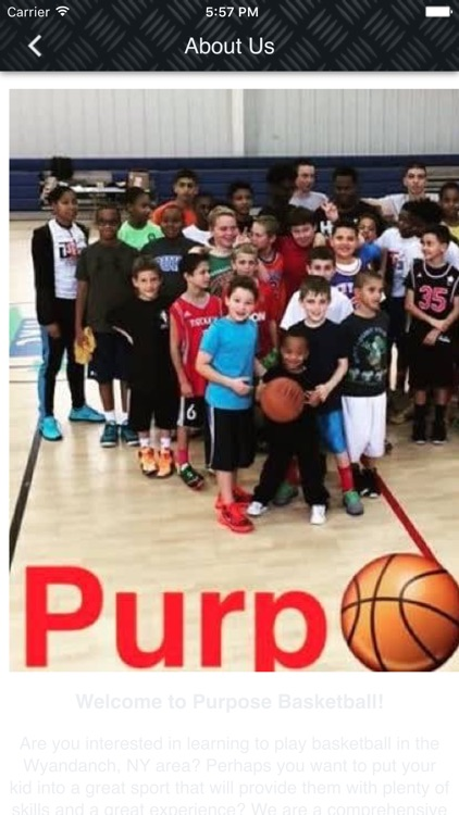 Purpose Basketball