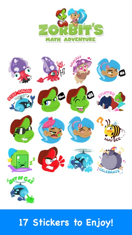 Zorbit Sticker Pack screenshot-3