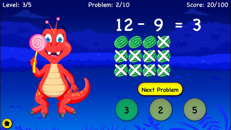 Subtraction For Kids - Games