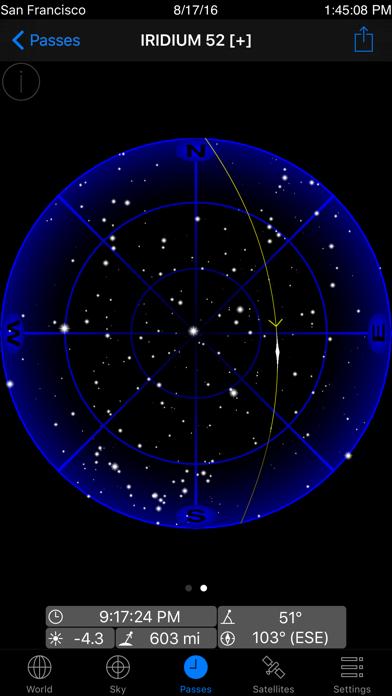 GoSatWatch Satellite Trackingのおすすめ画像4