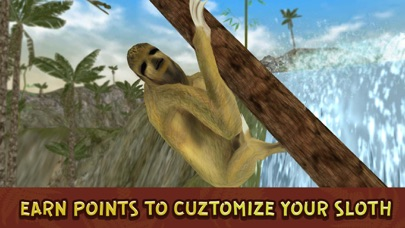Wild Sloth Forest Survival Simulator 3D Full screenshot four