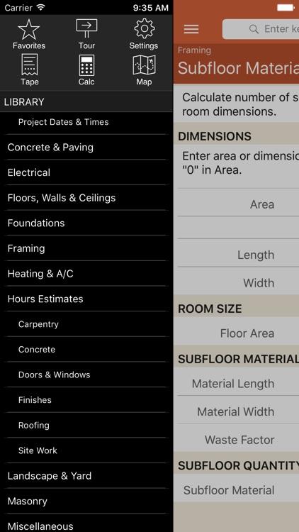 Home Builder Pro Calcs screenshot-4