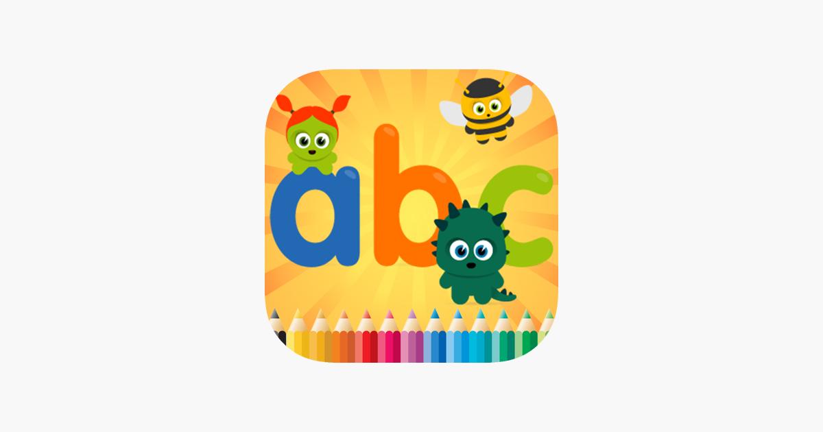 Malbuch ABC Spanisch Alphabet Spiele Alter 1-10 im App Store