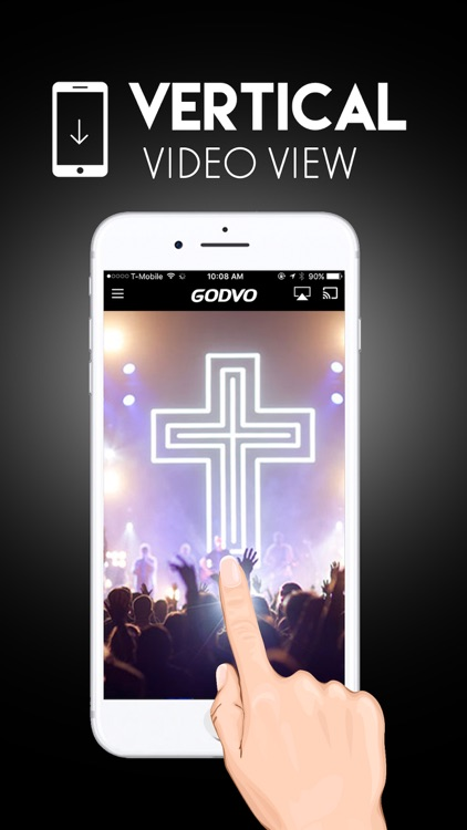 GODVO - Watch Christian TV, Jesus Christ, God screenshot-3