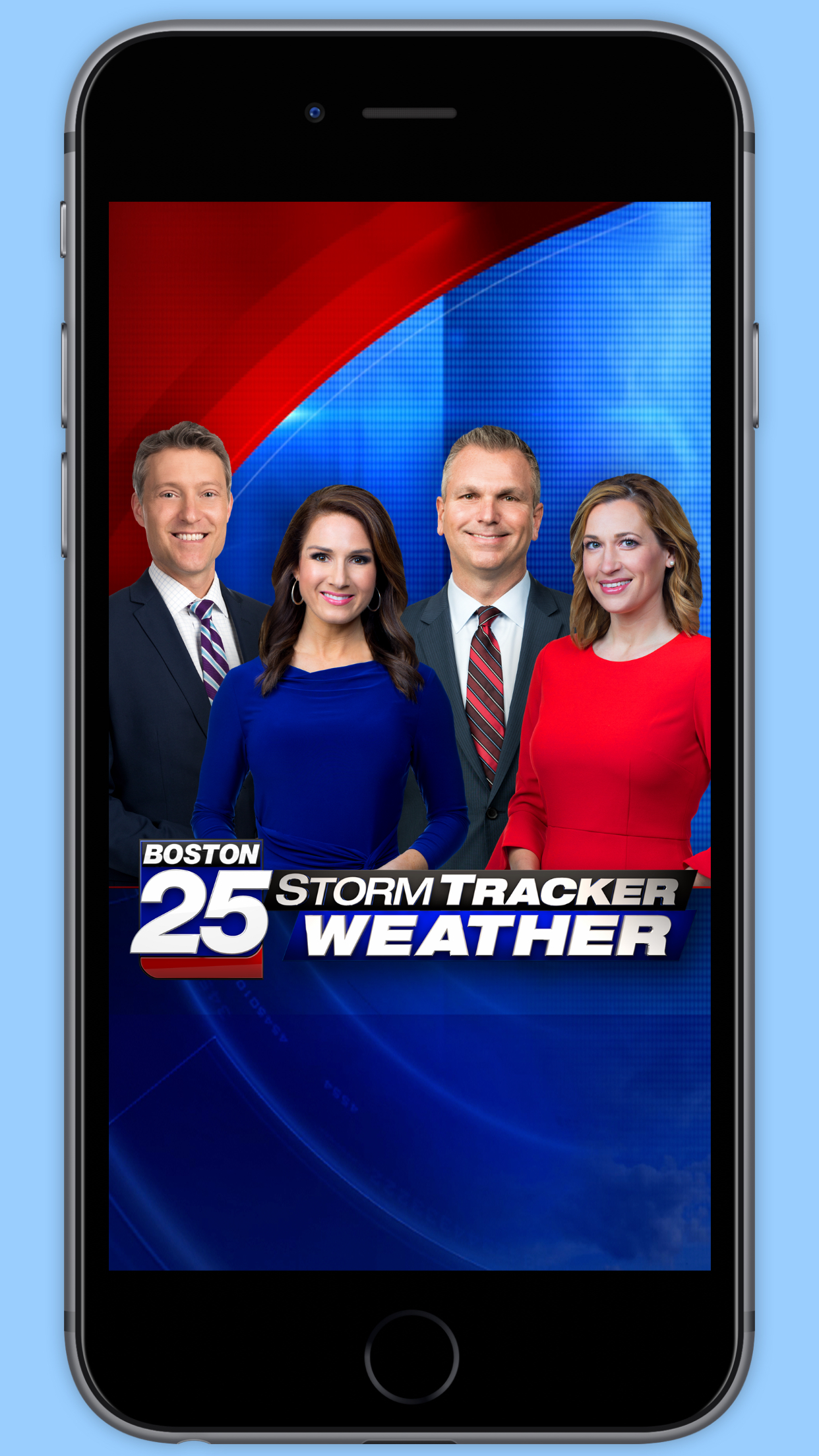 Boston 25 StormTracker Weather Screenshot