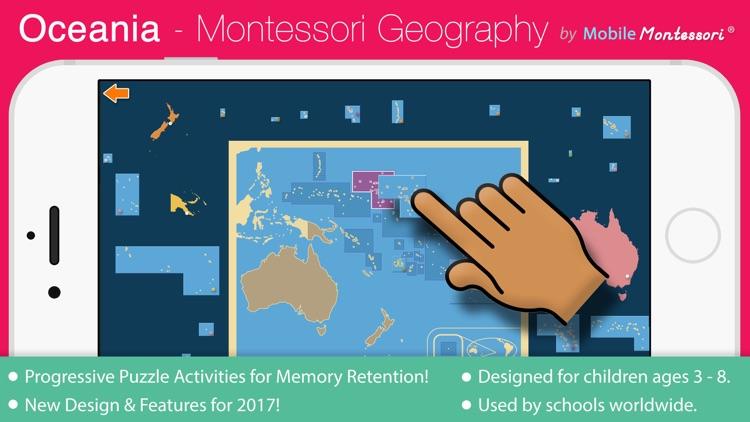 Oceania - Montessori Geography for Preschool & Up screenshot-0