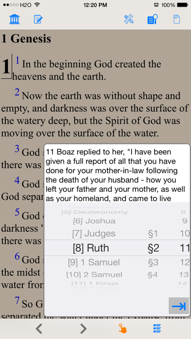 Holy Bible (new English Translation) review screenshots