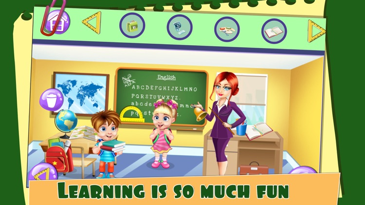 My School Doll House Game.s for Girls