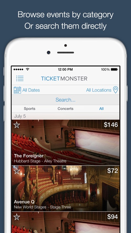 Ticket Monster - Cheap Entertainment Tickets