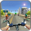 Bicycle City Rider: Endless Highway Racer