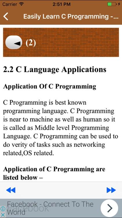 Easily Learn C Programming - Understandable Manner screenshot-3
