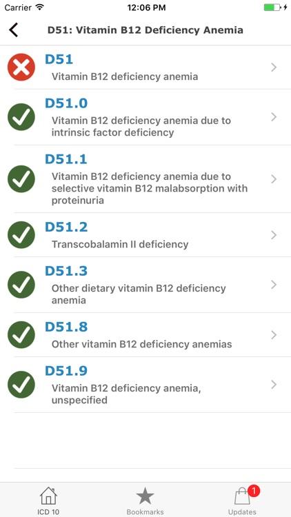 ICD 10 2018 CM Diagnoses Codes screenshot-3
