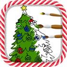 クリスマスぬりえブック icon
