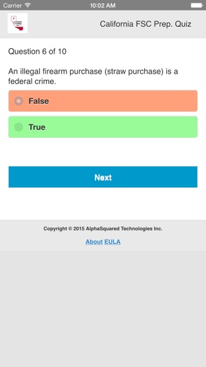 California Firearms Test on the App Store