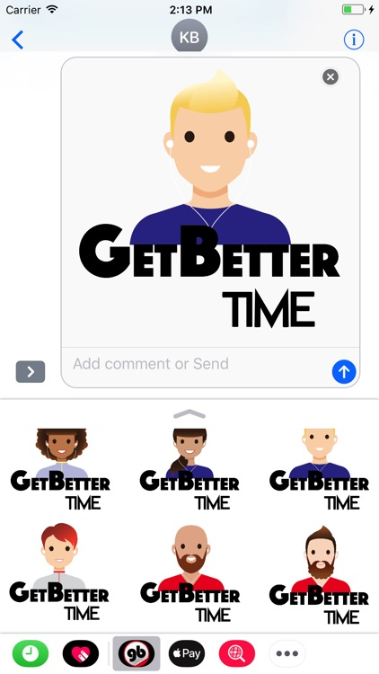 GetBetter Stickers