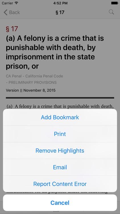 California Penal Code (LawStack Series)