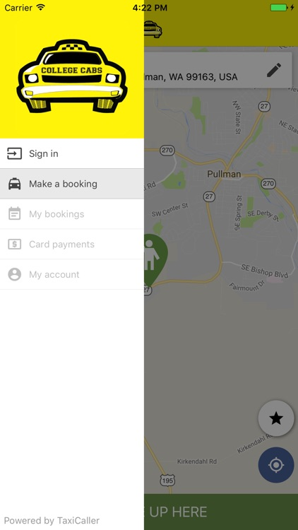College Cabs Pullman >> College Cabs Pullman By Taxicaller Nordic Ab