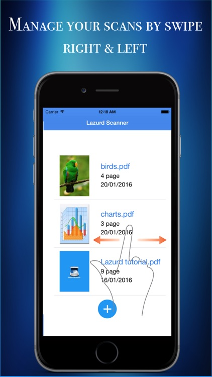 Lazurd  - PDF Scanner | Document Scanner Pro screenshot-4