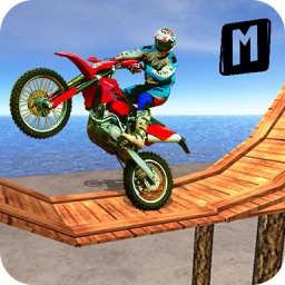 Super Bike Stunt Master : Impossible Track Drive