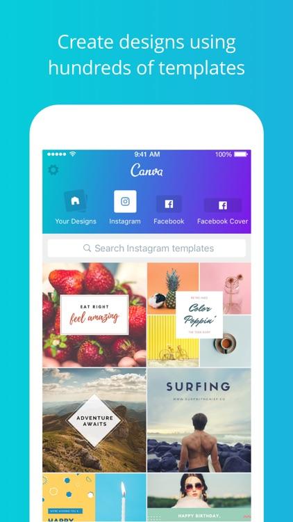 Canva - Graphic Design & Photo Editing screenshot-0