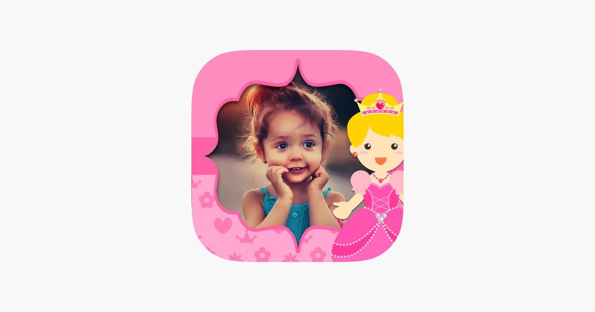 Feeprinzessin Fotorahmen für Mädchen - Kinder-Albu im App Store