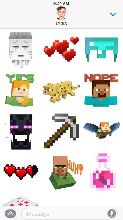 Minecraft Sticker Pack
