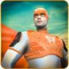 飞行超级英雄救援 - 超级人类复仇者在一个盛大的城市救援任务