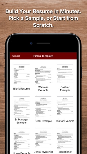 Resume Star 2 on the App Store