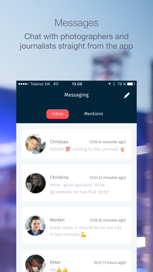 Straight chat apps