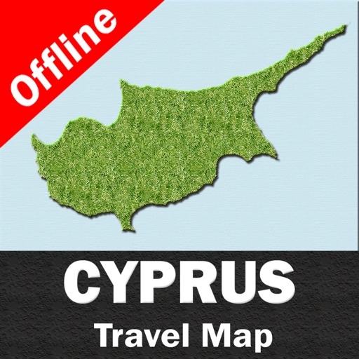 CYPRUS – GPS Travel Map Offline Navigator