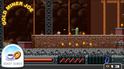 Screenshot from Gold Miner Joe
