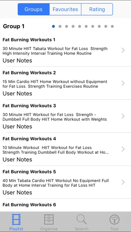 Fat Burn Workouts