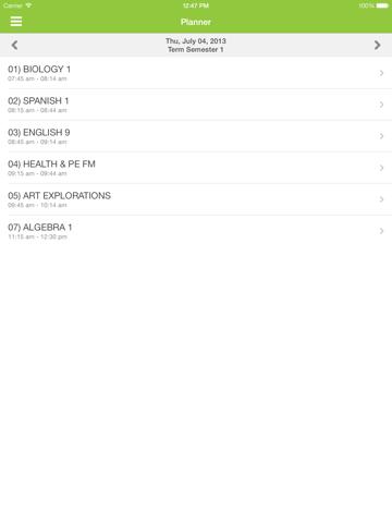 Infinite Campus Mobile Portal screenshot 3