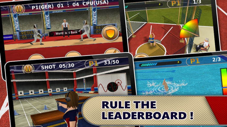 Summer Games: Women's Events (Full Version) screenshot-4