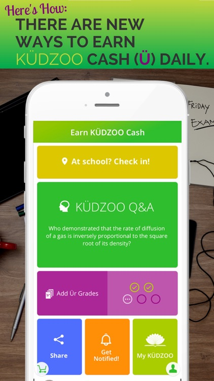 KÜDZOO - Student Rewards