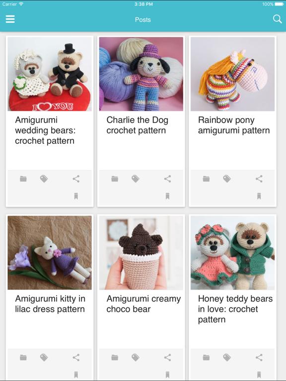 Amigurumi Today: free patterns & crochet tutorials para Android ... | 768x576