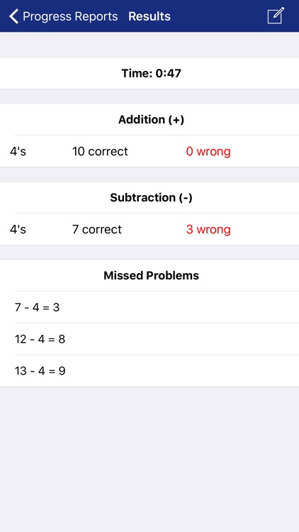 Math Fact Master screenshot-3